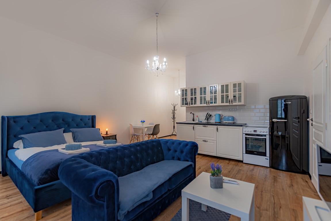 10B - modrý pokoj